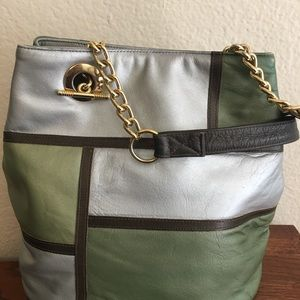 1980s! FrenchyofCalifornia Soft Leather Bag